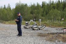 Комплексы МРК-27 и МРК-35 во время учений в Мурманской обл. в 2015г.