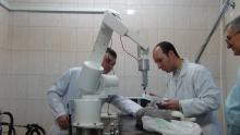 Роботизированный медицинский манипулятор во время доклинических испытаний