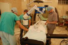 Врачи ЦКБ РАН и роботизированный медицинский манипулятор «РММ-2»