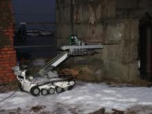 Отработка бурения отверстий с помощью МРК-27-МА и специального оборудования